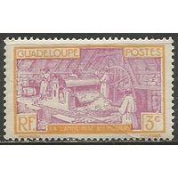 Гваделупа. Производство сахара. 1939г. Mi#152.