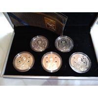 Набор монет православные святые Николай Чудотворец