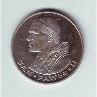 Польша. 1000 злотых 1982 г. серебро. Иоан Павел II
