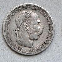 Австро-Венгрия 1 крона 1898 года. Серебро