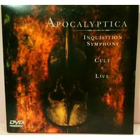 Apocalyptica (2CD+DVD) - Inquisition Symphony + Cult + Live (DVD)