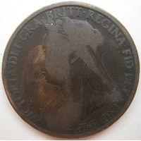 Великобритания 1 пенни 1897 г. (g)