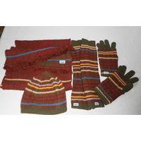 К 8 марта качественная одежда всего за 38 р.Комплект Шапка Шарф Перчатки Гетры . Roeckl . Известная и дорогая немецкая фирма