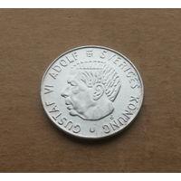 Швеция, 1 крона 1965 г., серебро, Густав VI Адольф