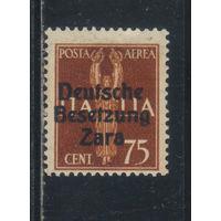 Германия Рейх Оккупация Далмация Зара 1943 Надп #25**