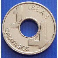 Галапагосские острова. 1/4 пиеза 2008 год  Unusual