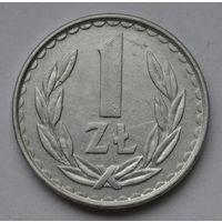 Польша 1 злотый, 1982 г.
