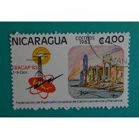 Никарагуа.1983. федерация радиолюбителей центральной Америки и Панамы