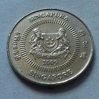 10 центов, Сингапур 2009 г.