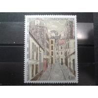Монако 1983 улица в Париже**, живопись Михель-2,6 евро