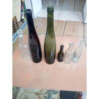 Немецкие бутылки с пмв