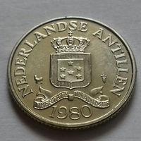 25 центов, Нидерландские Антильские острова, (Антиллы) 1980 г.