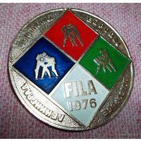 Чемпионат Европы по борьбе FILA 1976 Ленинград