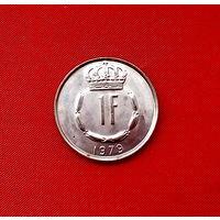 32-21 Люксембург, 1 франк 1979 г.