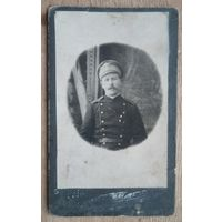 Фото военного. До 1917 г. 6.5х10.5 см