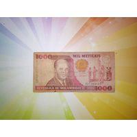 Мозамбик 1000 метикал 1991г