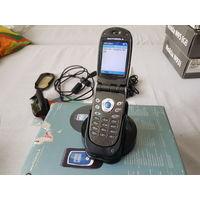 Лендарная раскладушка на Windows Mobile  Motorola mpx200 Полный комплект