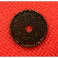 47-09 Дания, 5 эре 1928 г.