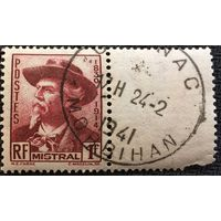 ЦІКАВІЦЬ АБМЕН! 1941, Фрэдэрык Містраль, 1 франк