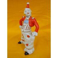 Редкий целый клоун, высота 15см.