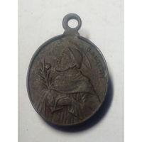 Медальон Божья Матерь А.М. и С.Доминик