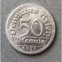 Германия 50 пфеннингов 1921 г.
