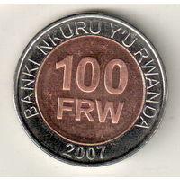 Руанда 100 франк 2007