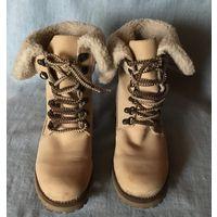 Ботинки Зимние р 39 нат нубук Германия