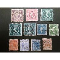 Лот марок Нового Южного Уэльса. Возможна продажа по отдельности.
