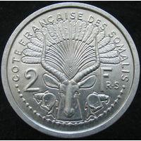 Фр. Сомали 2 франка 1959 (139)