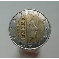 2 евро 2008 Люксембург
