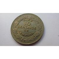Гондурас 10 сентаво 1989