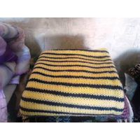 Детское вязоное одеяльце в коляску или кроватку меняюсь на детскую обувь