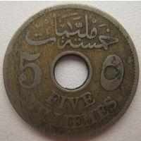 Египет 5 миллим 1916 г.