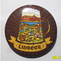 """""""Lidbeer"""" - значок первого фестиваля пива в Лиде."""