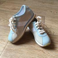 Немецкие кроссовочки, нат. замш 17 см