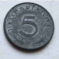 "Германия - Третий рейх 5 рейхспфеннигов, 1940 ""A"" - Берлин 4-10-18"
