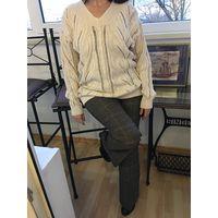 Свитер пуловер Tiffany 44-46 ОРИГИНАЛ Шелк Хлопок