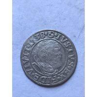 Грош  1538 г. - с 1 рубля.