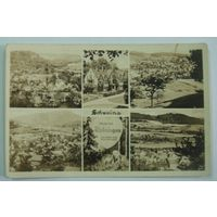 """Открытка города """" Майнинген. Германия, Штат Тюринген."""" 30-е годы."""