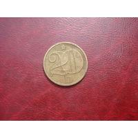 20 геллеров 1978 год Чехословакия