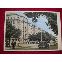 Открытка Могилев. Первомайская улица. 1963 г.