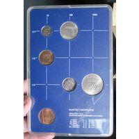 Нидерланды годовой сет монет 1985 в банковской пластиковой упаковке - UNC