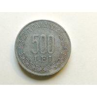 500 лей 2000 года. Монета А3-5-8