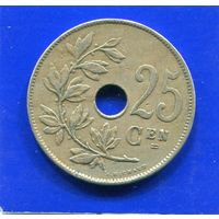 Бельгия 25 сантимов 1929 BELGIE
