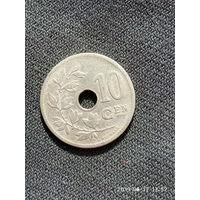 L013 10 сантимов бельгия 1906