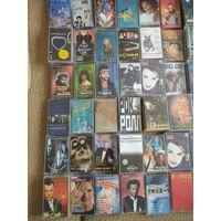 Аудиокассеты музыка 90х запакованное