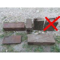 Ящики и канистры металлические старые