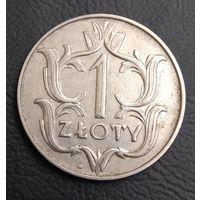 1 злотый 1929  Rzeczpospolita Polska