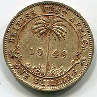 БРИТАНСКАЯ ЗАПАДНАЯ АФРИКА - ШИЛЛИНГ 1949